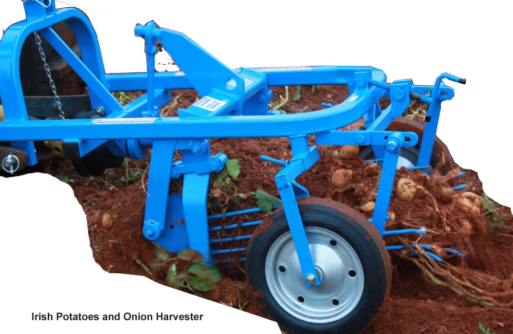 Irish Potatoes and Onion Harvester, 2 Wheel BCS Tractor, Walk Behind Tractor, Agro Machinery & Equipment Kampala Uganda, Agriculture & Farming Equipment