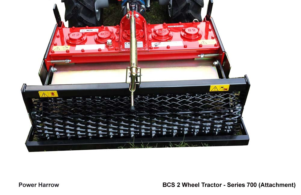Power Harrow, BCS 2 Wheel Tractors Series 700 Attachment, Agro Machinery & Equipment Kampala Uganda, Agriculture & Farming Equipment