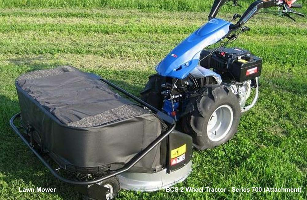 Lawn Mower, 2 Wheel BCS Tractor, Walk Behind Tractor, Agro Machinery & Equipment Kampala Uganda, Agriculture & Farming Equipment